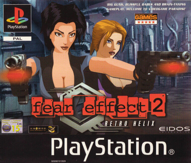 videojuegos lesbianas fear effect 2